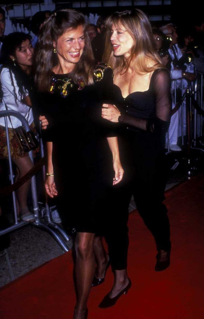 Сестрыблизнецы Хэмилтон на премьере quotТерминатор 2 Судный деньquot, США, 1991 год