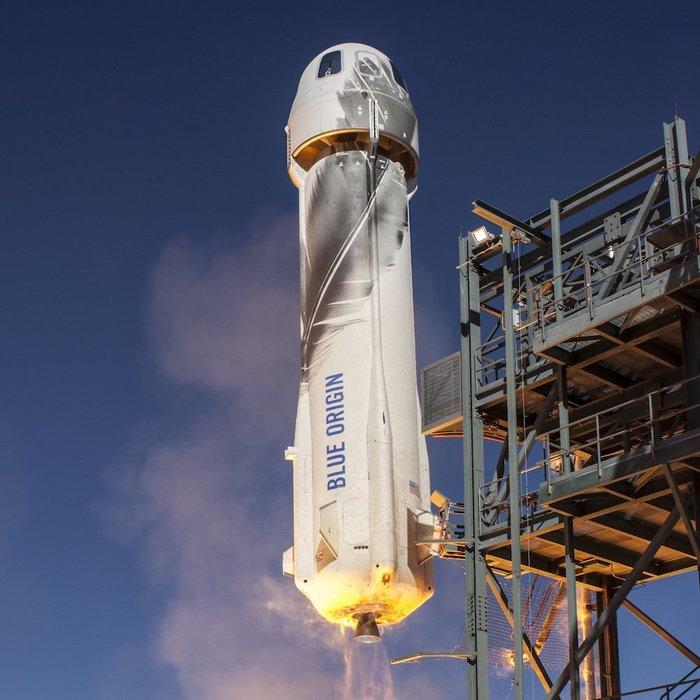 6-й полёт New Shepard 3 в рамках миссии NS-12 - полностью успешный!