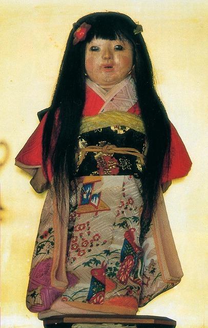Кукла с растущими волосами