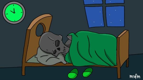 Нельзя просто взять и лечь спать в новогоднюю ночь Adeptus Mechanicus, Necrons, Wh Other, Wh humor, Гифка