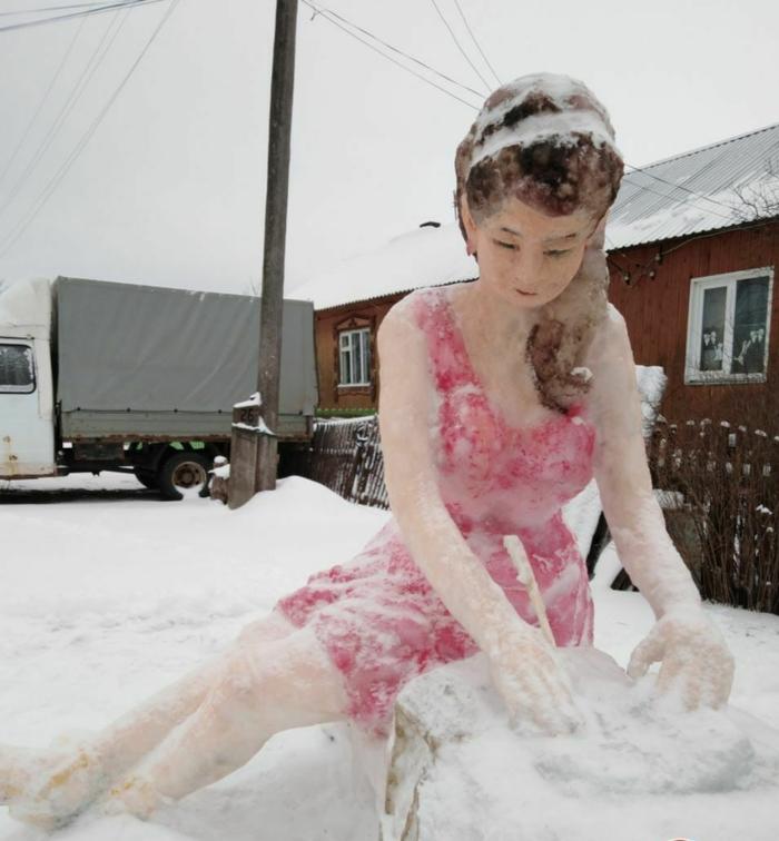 Таланты снежного дела в Кирове