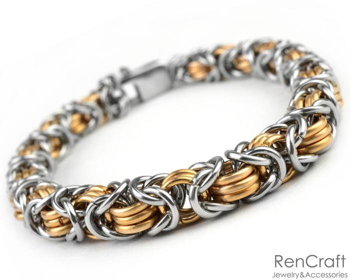 Византийский браслет с бронзой