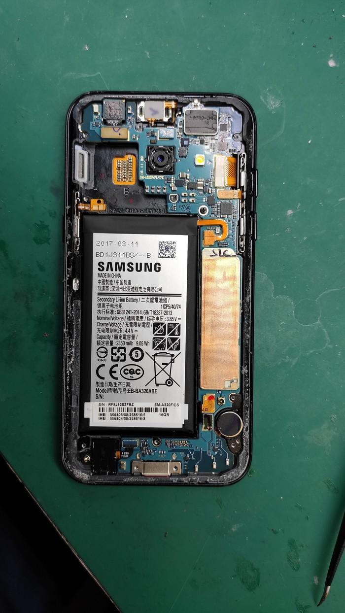 Samsung A3 2017. Увеличение памяти до 128Gb Ремонт, Ремонт техники, Samsung, Апгрейд, Увеличение памяти, Пайка, Google Play, Память, Длиннопост
