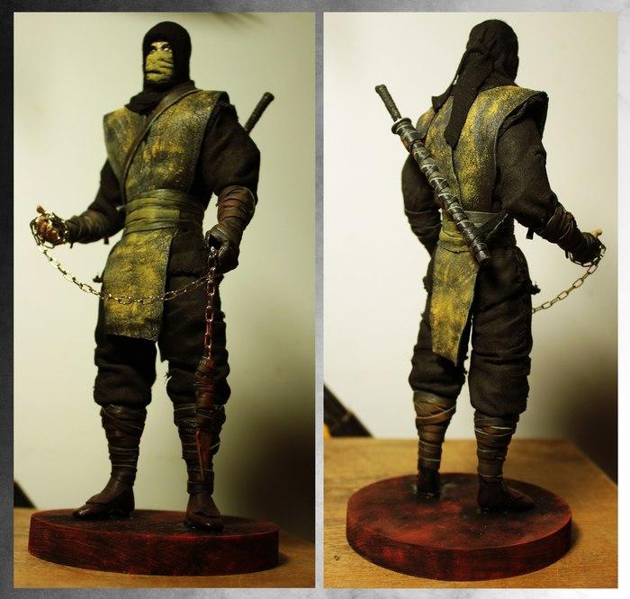Пытаюсь делать статуэтки по Mortal Kombat