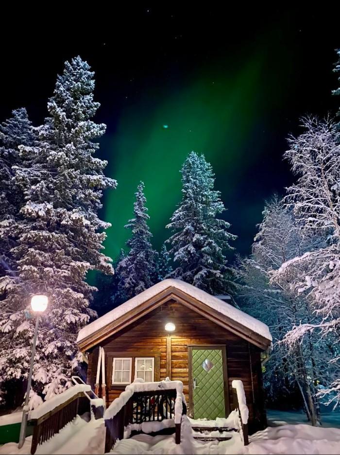 Ночь в Швеции