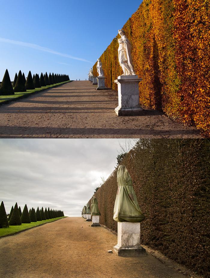 Осень и зима в Версале