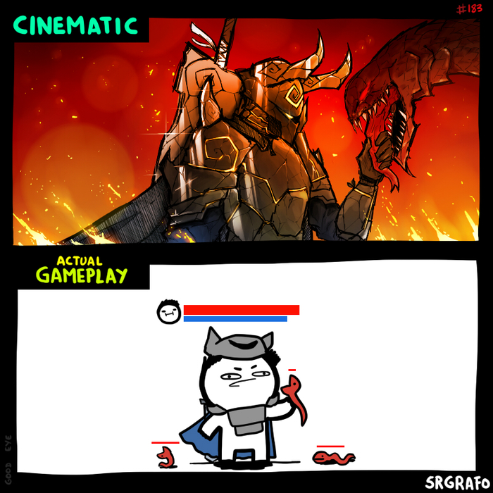 Разница между рекламным видео и реальным геймплеем