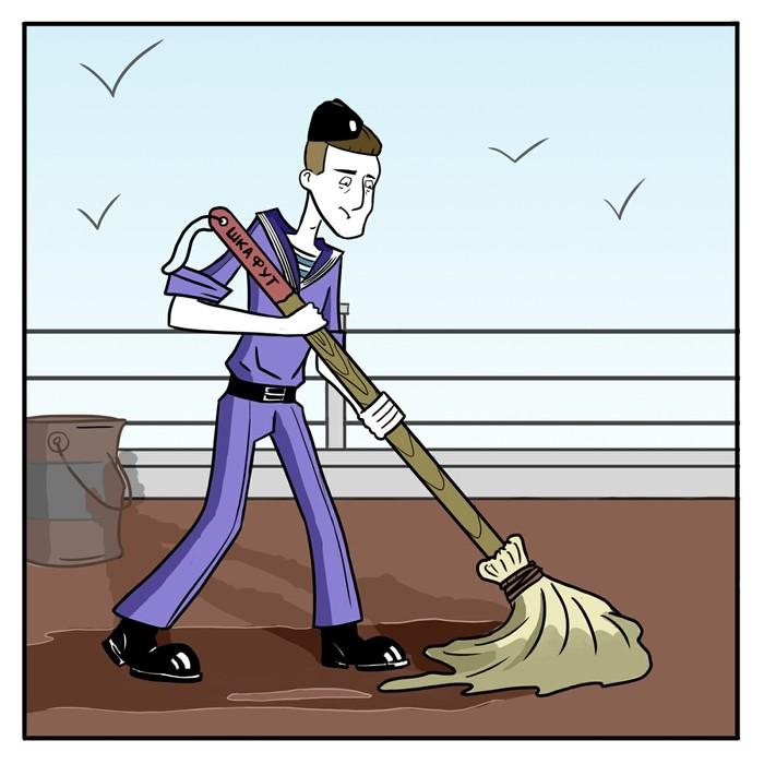 Матросский комикс