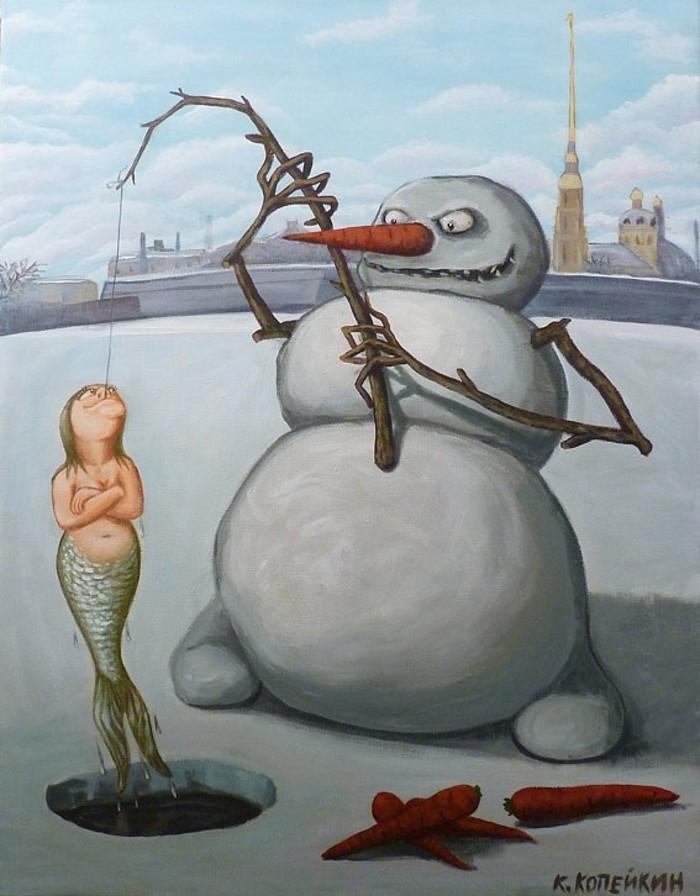 Снеговики Николая Копейкина