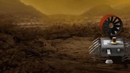 NASA просит придумать сенсор для венерианского механического ровера Космос, Венера, NASA, Rover, Исследования, Гифка, Длиннопост