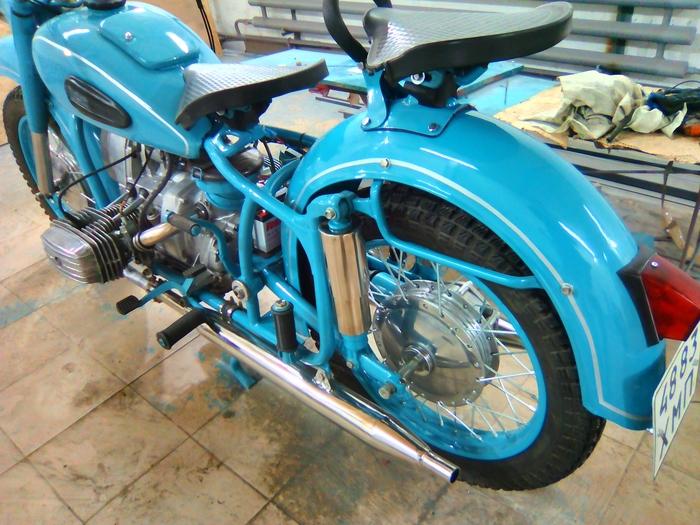 Мотоцикл Днепр мт 9 | 525x700