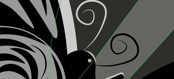 Game of shadow Иллюстрации, Тень, Девушки, Adobe Illustrator, Гифка
