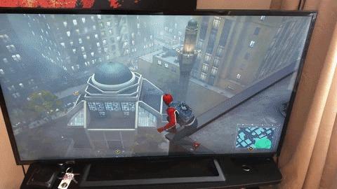 Когда играешь в Человека паука и вид показался тебе знакомым...