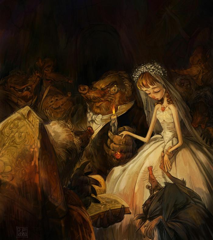 Дюймовочка - Неравный брак