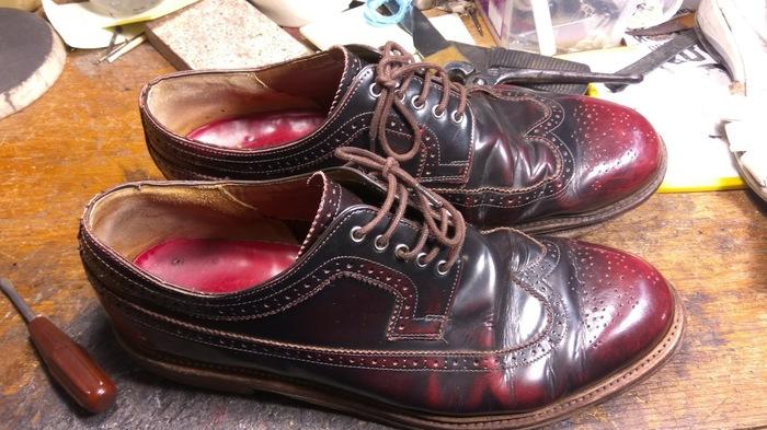 Тоже про ремонт обуви