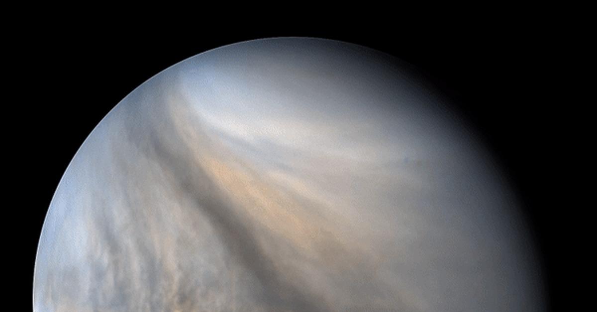 Венера в ультрафиолетовом диапазоне