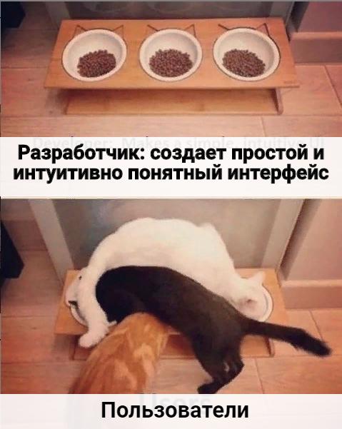 Дизайн интерфейсов: объяснение на котиках