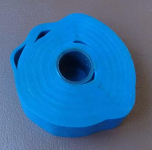 Настоящая синяя изолента