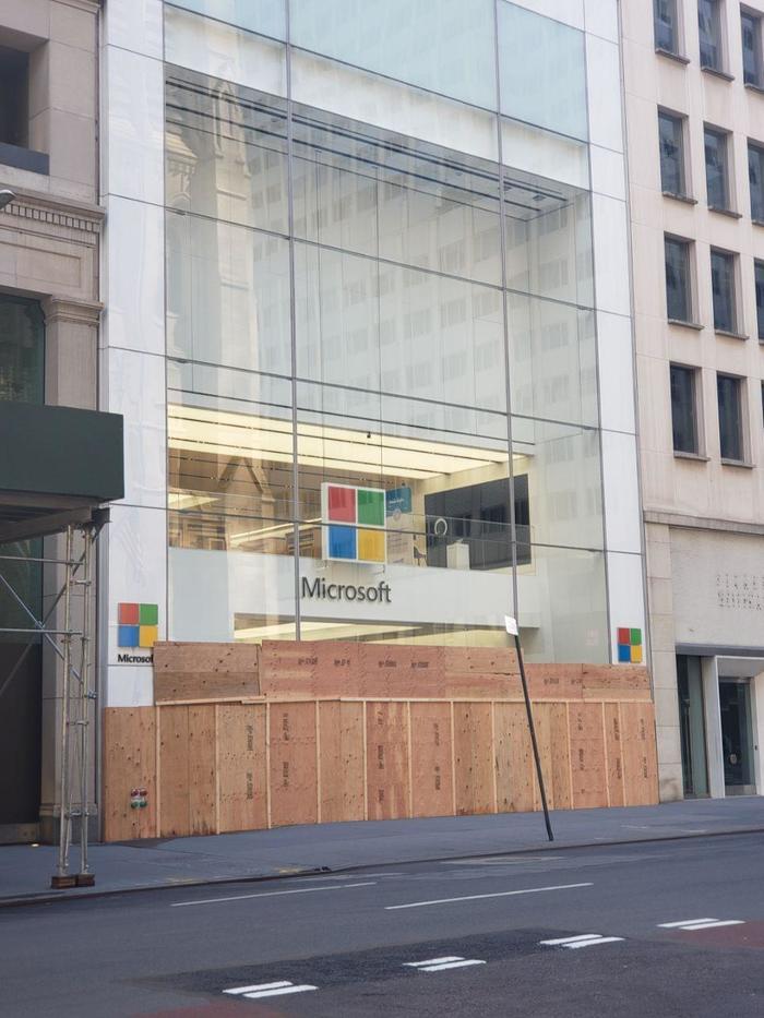 Как изменились крупные магазины в Нью-Йорке