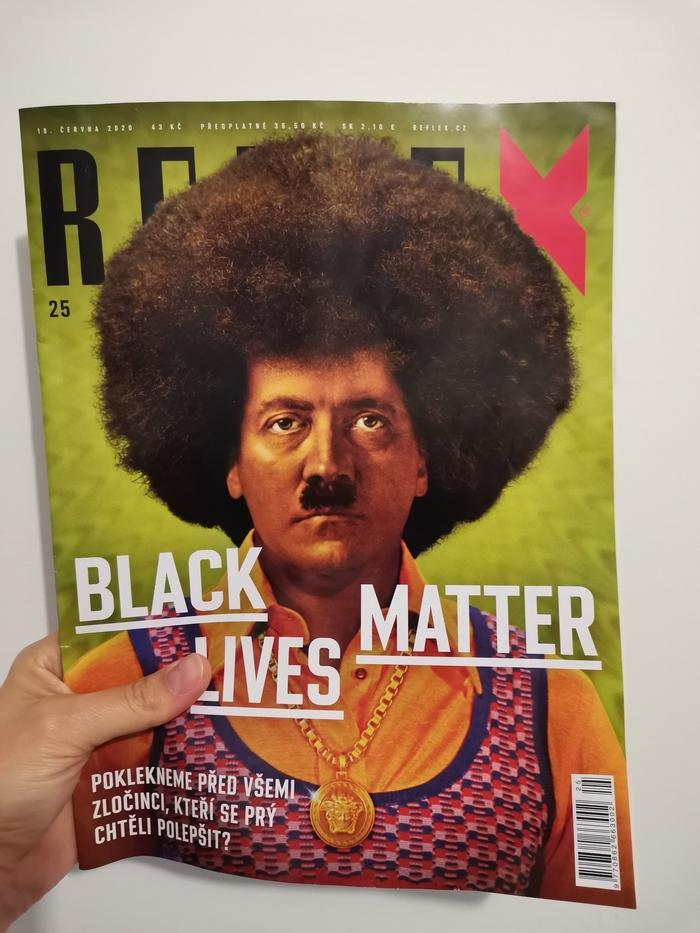 Ответ на пост Черный Гитлер в чешском еженедельнике