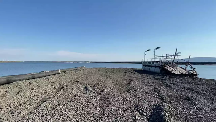 Норникель прямо сейчас сливает ядовитые отходы в озеро Пясино