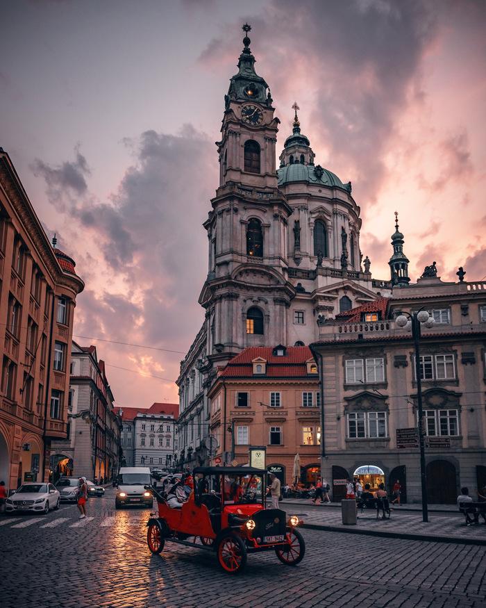 Волшебный вечер в Праге