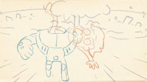 ЖУКК. Инопланетный сверхкот Заберите меня с этой планеты, Мультфильмы, Рисунок, Арт, Набросок, Персонажи, Гифка, Юмор, Длиннопост