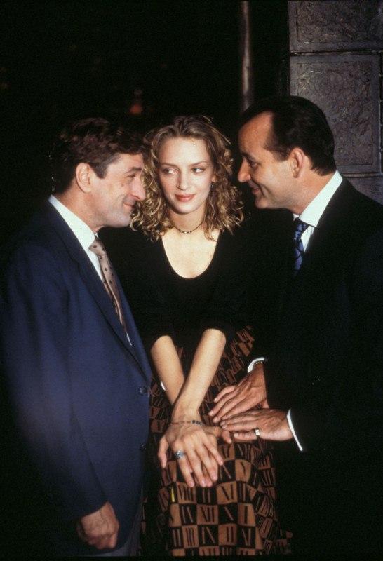 Роберт Де Ниро, Ума Турман, Билл Мюррей, 1993 год