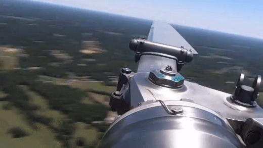 Лопасть вертолета в движении. Пятничное