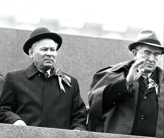 Портрет вождя с преемником - от Ленина до Путина История, Фотография, Вождь, СССР, Длиннопост