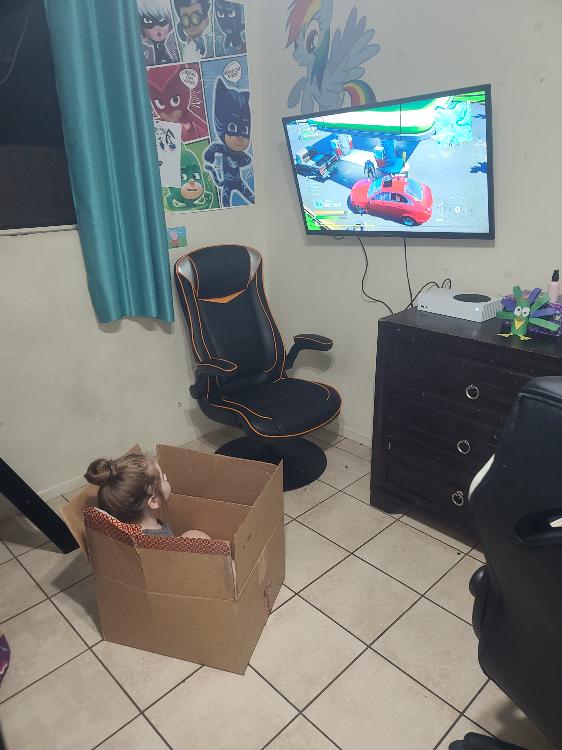 """""""Купил для своей дочки удобное геймерское кресло. Можете меня поздравить - оказывается, я воспитываю кота"""""""
