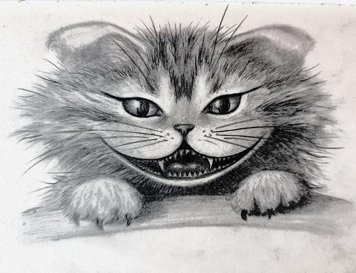 Чеширский котёнок