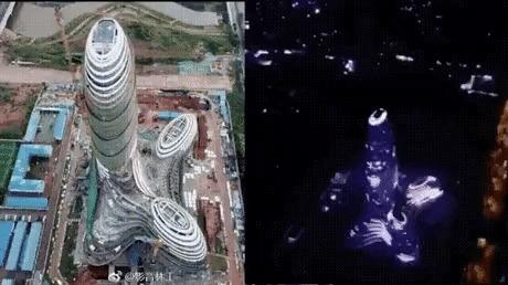 Какое здание такой и салют