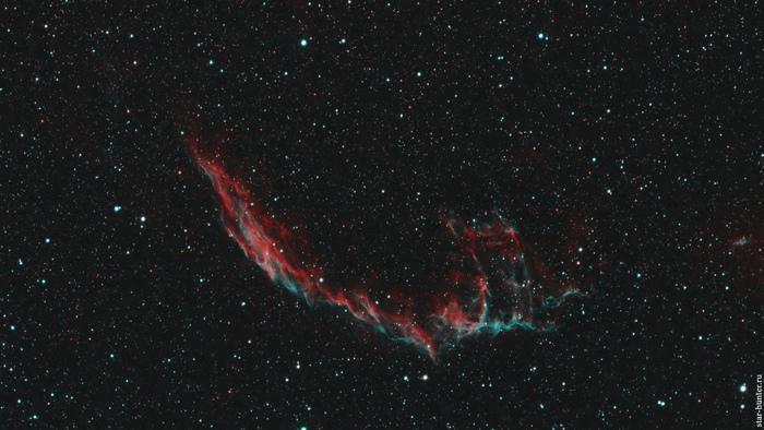 Туманность NGC 6992, 18 июня 2020 года