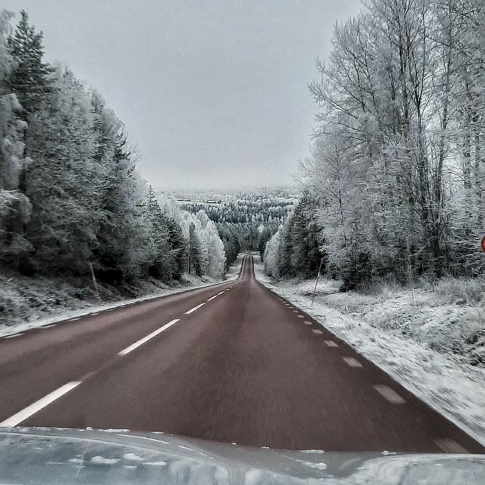 Зимняя Швеция