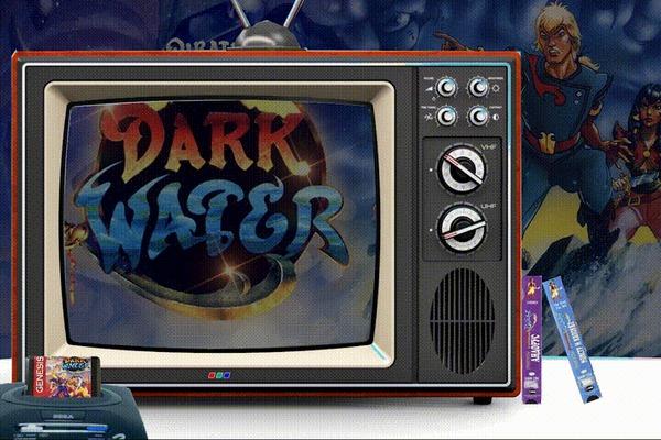 The Pirates of Dark Water - мультсериал и видеоигры (Детство с Джойстиком в Руках) The Pirates of Dark Water, Компьютерные игры, Ретро-Игры, Sega, SNES, Nintendo, Мультсериалы, 16 бит, Гифка, Видео, Длиннопост