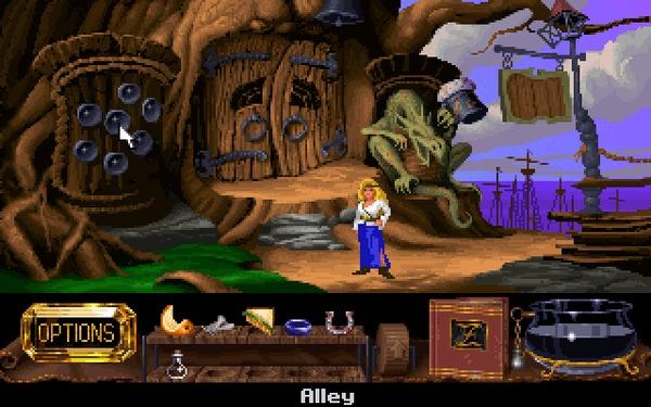 The Legend of Kyrandia: Hand of Fate (часть 2) 1993, Прохождение, The Legend of Kyrandia, Westwood, Игры для DOS, Компьютерные игры, Ретро-Игры, Квест, Гифка, Длиннопост