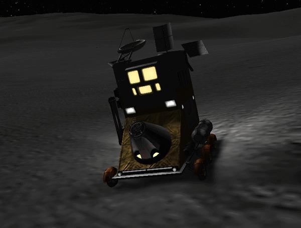 Ответ на пост «Роскосмос придумал гермокабину для работы на других планетах, а также под водой!» Kerbal Space Program, Роскосмос, Изобретения, Патент, Разработка, Наука, Технологии, Россия, Луна, Марс, Космонавтика, Космос, Гифка, Ответ на пост, Длиннопост