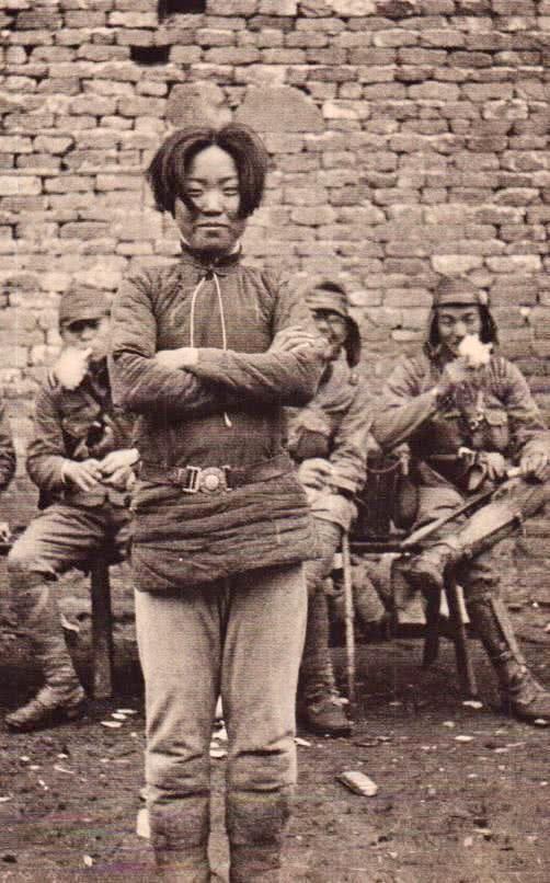 Китайская Зоя Космодемьянская Китай, Убийство, Японская армия, Война, История, Фотография, Длиннопост, Негатив