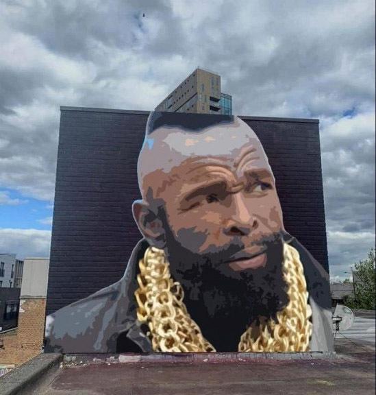 Креативное граффити