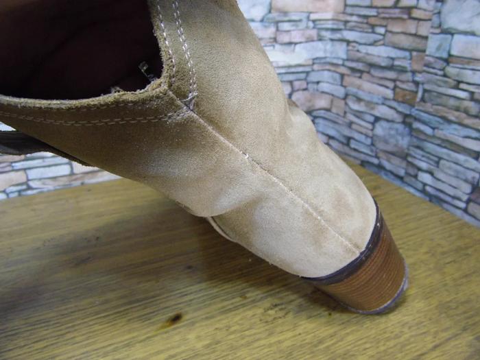 Выворотный шов на обуви попытка ремонта и ремонт после ремонта