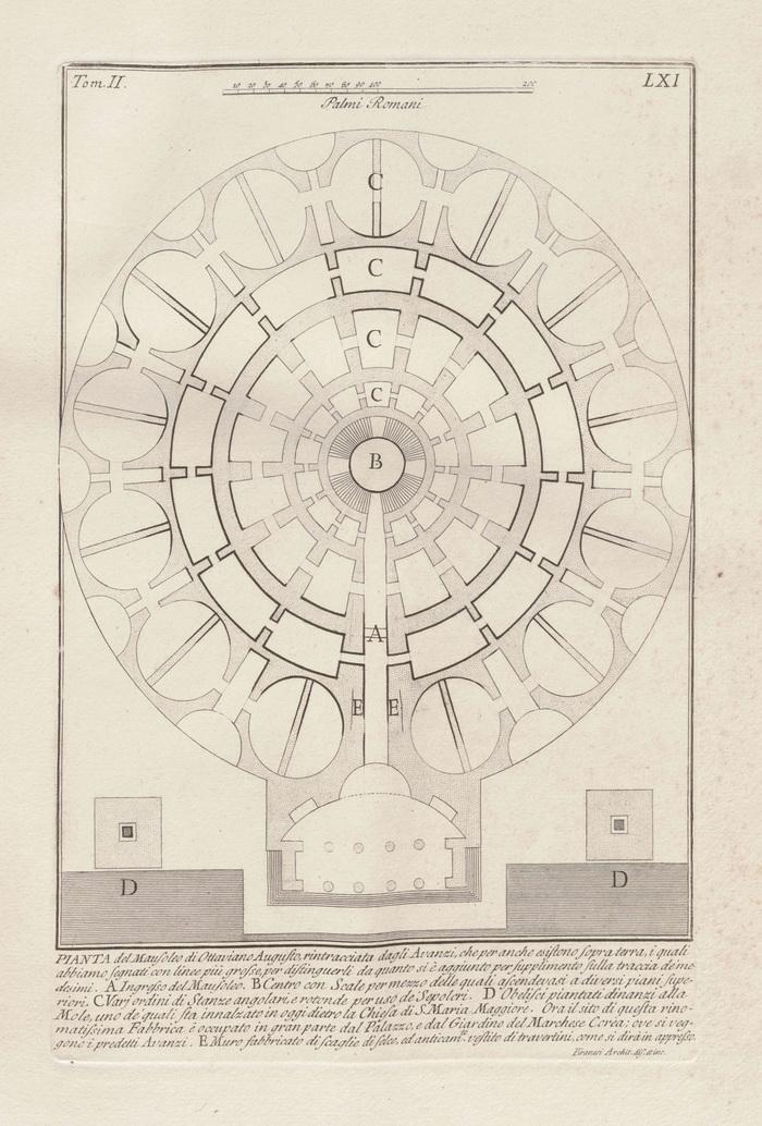 Мавзолей Августа.История одного здания