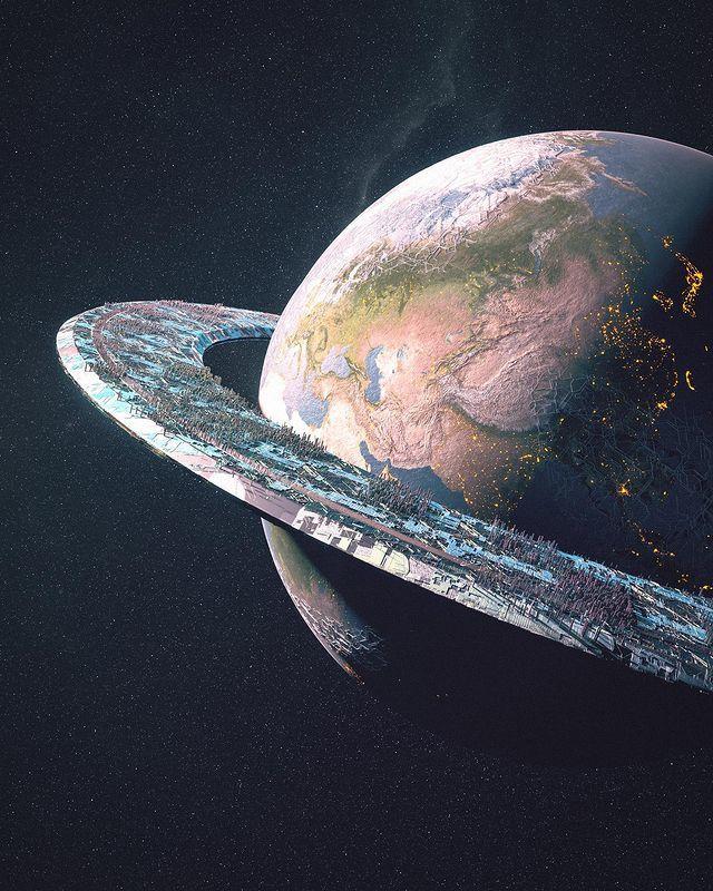Звёздное небо и космос в картинках - Страница 39 1616543535185132802