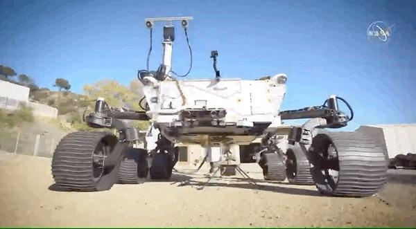 НАСА раскрыло зону полета первого дрона на Марсе Марс, Марсоход, Дрон, Космос, Технологии, Полет, NASA, Гифка, Длиннопост, Марсианский вертолет Ingenuity