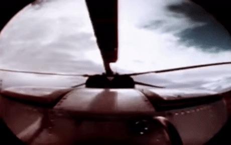 Катапультирование из вертолёта Вертолет, Катапультирование, Полет, Пилот, Гифка, Авиация