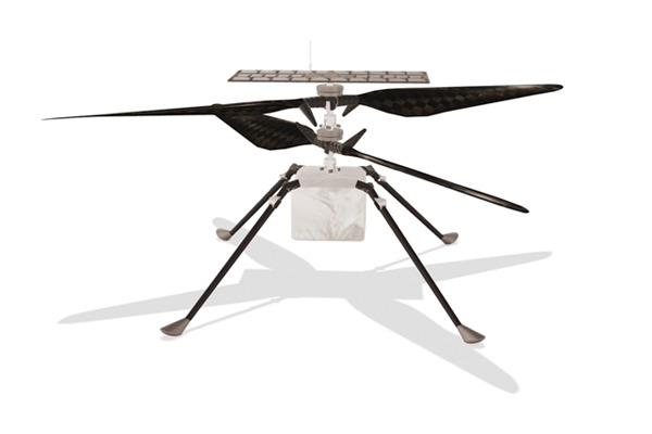 Первый внеземной дрон пережил ночь и прислал цветную фотографию с Марса Новости, Наука, Марс, Марсоход, Дрон, Гифка, Марсианский вертолет Ingenuity