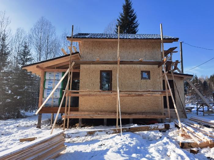 Сколько на самом деле стоит дом в 2021 году Строительство, Стройка, Строители, Работа, Рабочие, Мастер, Лайфхак, Своими руками, Видео, Длиннопост