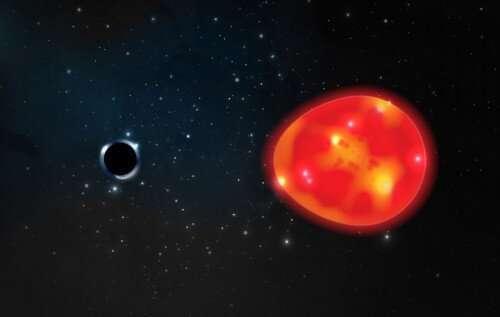Обнаружена самая близкая к Земле черная дыра Астрономия, Наука, Черная дыра, Космос, Млечный путь, Телескоп, Единорог