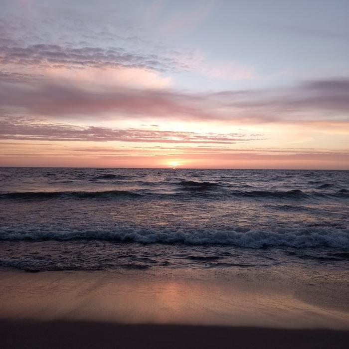 Балтийский закат без фильтров