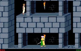 Принц или не Принц, вот в чём вопрос Принц Персии, Компьютерные игры, Игры для DOS, Dos, Dos Games, Длиннопост, Гифка, Модификации